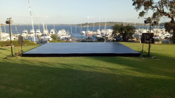 Staging Hire Perth