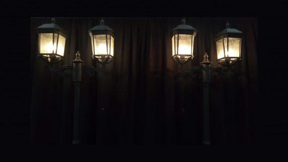 Dual Parisian Lamps